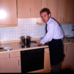 Klaus kann nicht nur gut Zähne machen, sondern auch gut kochen.