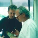 Kollegialer Austausch mit Willi Geller in seinem Oral-Design-Center