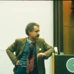 Beruflicher Austausch in der zahnärztlichen Akademie mit Willi Geller.