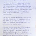 Brief von Klientin 1