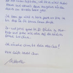 Brief von Klientin 2
