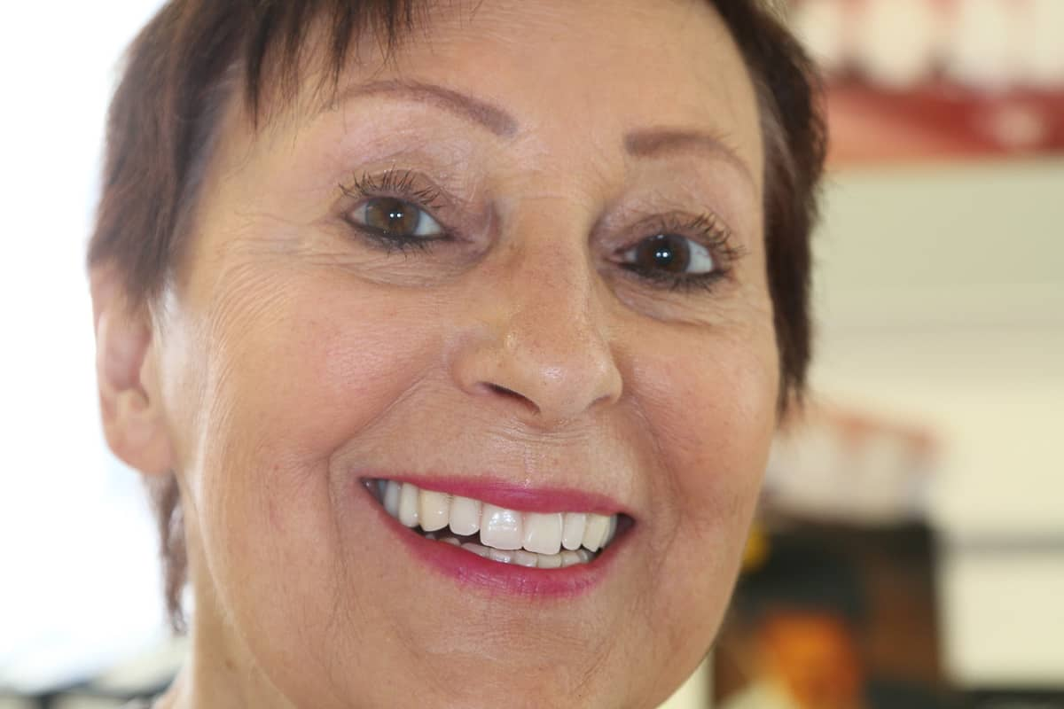 So konnte Frau Zahn ihre Zahnarztpraxis wieder verlassen.