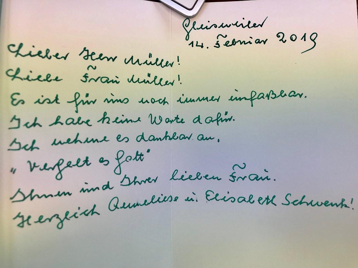 Danke - Gästebuch arsdentis