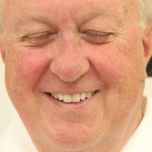 neue Zahnprothese